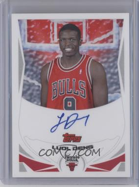 2004-05 Topps Rookie Photos Shoot Certified Autographs [Autographed] #TA-LD - Luol Deng