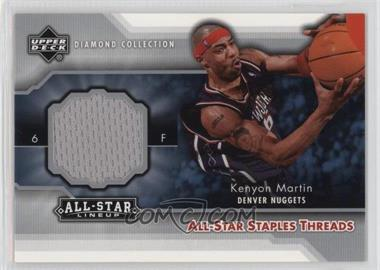 2004-05 Upper Deck All-Star Lineup - All-Star Staples Threads #STT-KM - Kenyon Martin