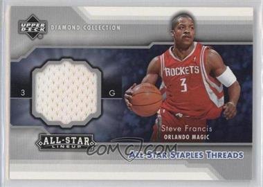 2004-05 Upper Deck All-Star Lineup - All-Star Staples Threads #STT-SF - Steve Francis