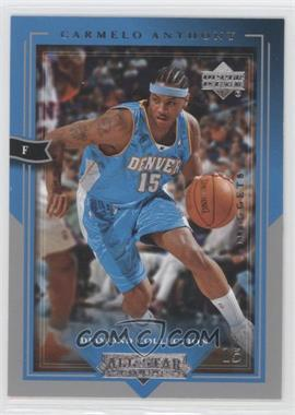 2004-05 Upper Deck All-Star Lineup - [Base] #19 - Carmelo Anthony