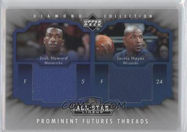 2004-05 Upper Deck All-Star Lineup - Prominent Futures Threads #PFT-HH - Jarvis Hayes, Josh Howard