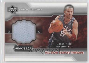 2004-05 Upper Deck All-Star Lineup All-Star Staples Threads #STT-JK - Jason Kidd