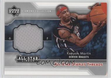 2004-05 Upper Deck All-Star Lineup All-Star Staples Threads #STT-KM - Kenyon Martin