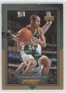 2004-05 Upper Deck All-Star Lineup Gold Honors #80 - Ray Allen /100