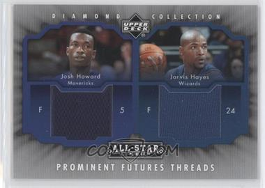 2004-05 Upper Deck All-Star Lineup Prominent Futures Threads #PFT-HH - Jarvis Hayes, Josh Howard