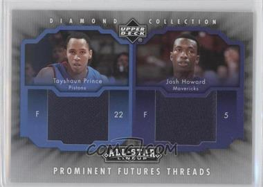 2004-05 Upper Deck All-Star Lineup Prominent Futures Threads #PFT-PH - Tayshaun Prince, Josh Howard