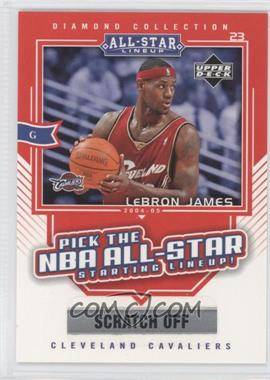 2004-05 Upper Deck All-Star Lineup Promo Cards #AS2 - Lebron James