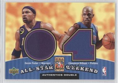2004-05 Upper Deck All-Star Weekend Authentics Double #ASW2-FB - [Missing]