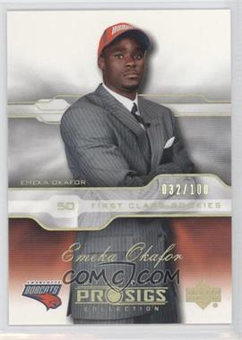 2004-05 Upper Deck Diamond Collection Pro Sigs Gold #92 - Emeka Okafor /100