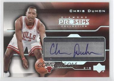 2004-05 Upper Deck Diamond Collection Pro Sigs Pro Signs Rookies [Autographed] #PS-CD - Chris Duhon