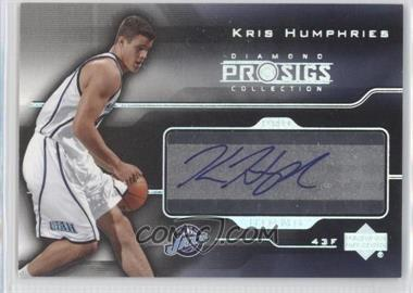 2004-05 Upper Deck Diamond Collection Pro Sigs Pro Signs Rookies [Autographed] #PS-KH - Kris Humphries