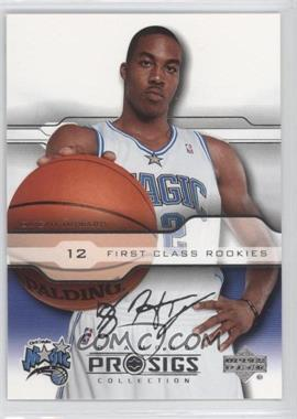 2004-05 Upper Deck Diamond Collection Pro Sigs Silver #91 - Dwight Howard