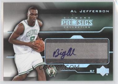 2004-05 Upper Deck Pro Sigs Diamond Collection - Pro Signs Rookies #PS-AL - Al Jefferson