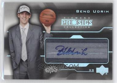 2004-05 Upper Deck Pro Sigs Diamond Collection - Pro Signs Rookies #PS-UD - Beno Udrih