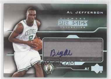 2004-05 Upper Deck Pro Sigs Diamond Collection Pro Signs Rookies #PS-AL - Al Jefferson