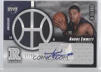 Andre Emmett /50