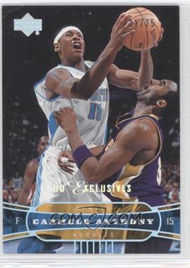 2004-05 Upper Deck Spectrum UD Exclusives #39 - Carmelo Anthony /25