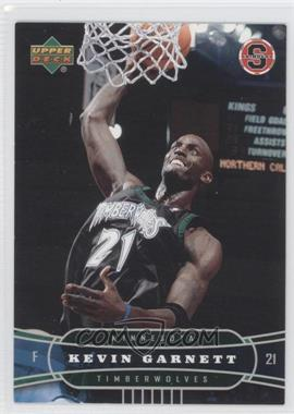 2004-05 Upper Deck Stadium Giveaway Shinders Minnesota Timberwolves #1 - Kevin Garnett