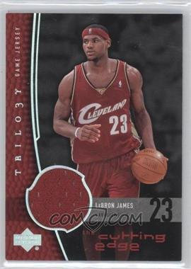 2004-05 Upper Deck Trilogy - The Cutting Edge #CE-LJ - Lebron James