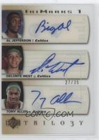 Al Jefferson, Delonte West, Tony Allen /35