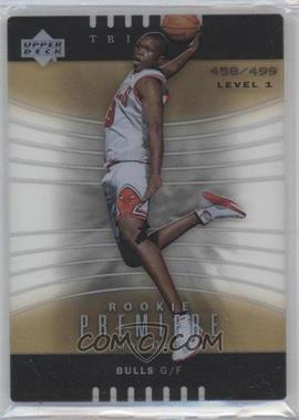 2004-05 Upper Deck Trilogy #147 - Luol Deng /499