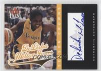 DeLisha Milton-Jones /100