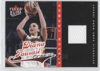 2004 Fleer Ultra WNBA Season Crowns Rookie Jersey #SCJ2 - Diana Taurasi /500
