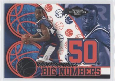 2004 Press Pass Collectors Series Big Numbers #BN 17 - Emeka Okafor