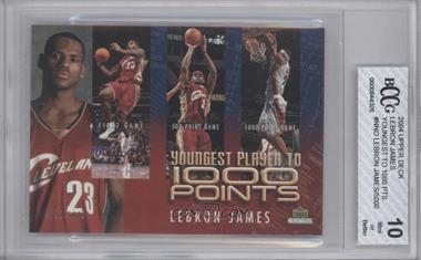 2004 Upper Deck Collectibles #LJ1K - Lebron James /5000 [ENCASED]