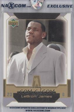 2004 Upper Deck Naxcom Lebron James [???] #N/A - Lebron James