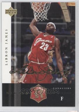 2004 Upper Deck Rivals - [Base] - Facsimile Autograph #5 - Lebron James