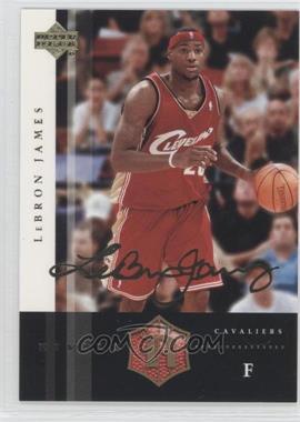 2004 Upper Deck Rivals - [Base] - Facsimile Autograph #6 - Lebron James