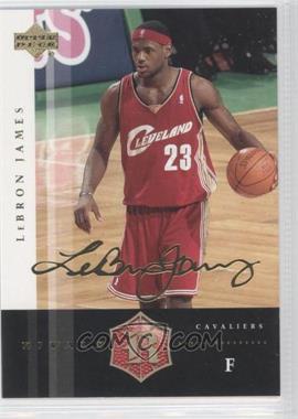 2004 Upper Deck Rivals - [Base] - Facsimile Autograph #7 - Lebron James