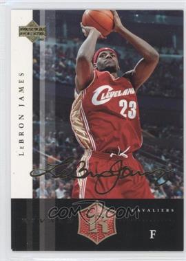 2004 Upper Deck Rivals Facsimile Autograph #12 - Lebron James