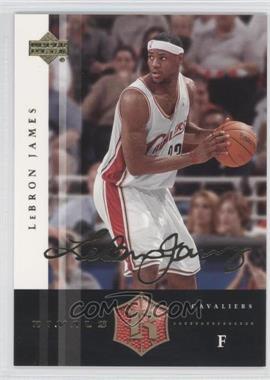 2004 Upper Deck Rivals Facsimile Autograph #13 - Lebron James