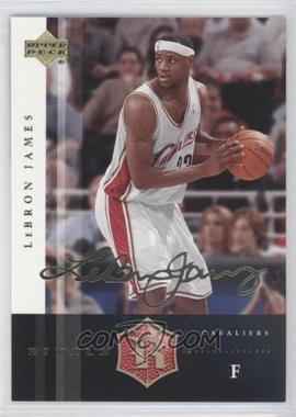 2004 Upper Deck Rivals Facsimile Autograph #13 - Lebron James