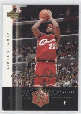 2004 Upper Deck Rivals Facsimile Autograph #8 - Lebron James