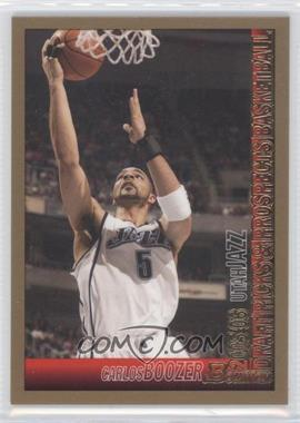 2005-06 Bowman Draft Picks & Prospects - [Base] - Gold #7 - Carlos Boozer