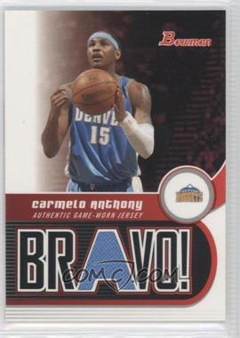 2005-06 Bowman Draft Picks & Prospects Bravo! #BV-CA - Carmelo Anthony