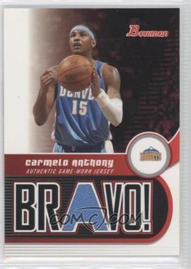 2005-06 Bowman Draft Picks & Prospects Bravo! #BV-CA - Carmelo Anthony