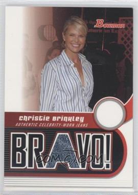 2005-06 Bowman Draft Picks & Prospects Bravo! #BV-CB - Christie Brinkley