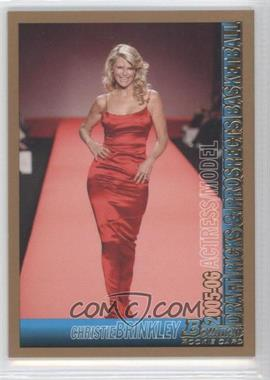 2005-06 Bowman Draft Picks & Prospects Gold #148 - Christie Brinkley