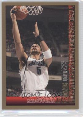 2005-06 Bowman Draft Picks & Prospects Gold #7 - Carlos Boozer