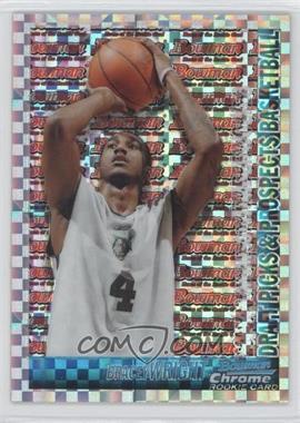 2005-06 Bowman Draft Picks & Stars - Chrome - X-Fractor #139 - Bracey Wright /150