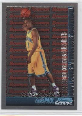 2005-06 Bowman Draft Picks & Stars - Chrome #111 - Chris Paul