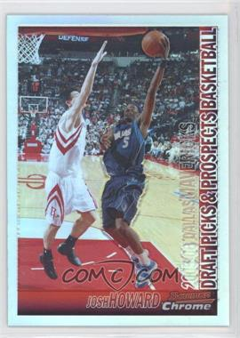 2005-06 Bowman Draft Picks & Stars Chrome Refractor #67 - Josh Howard /300
