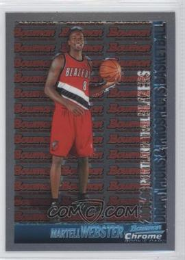 2005-06 Bowman Draft Picks & Stars Chrome #133 - Martell Webster