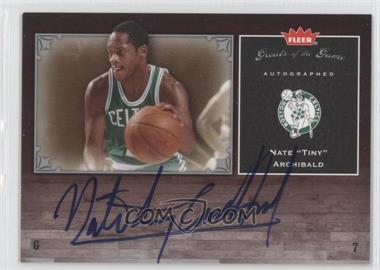2005-06 Fleer Greats of the Game Autographed [Autographed] #GG-NA - Nate Archibald