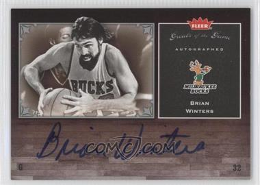 2005-06 Fleer Greats of the Game Autographed [Autographed] #GG-WI - Brian Winters