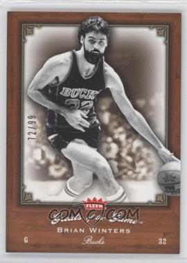2005-06 Fleer Greats of the Game Gold #15 - Brian Winters /99
